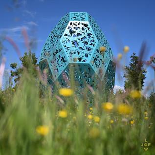 'Nursling Murmurings' Sculpture by Martin Heron, Southampton