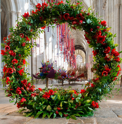 Festival of Flowers #1, Winchester Cathedral