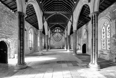Interior of Great Hall, Winchester
