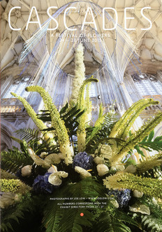 Cascades Flower Festival, Winchester Cathedral 2015 (whole page in brochure)