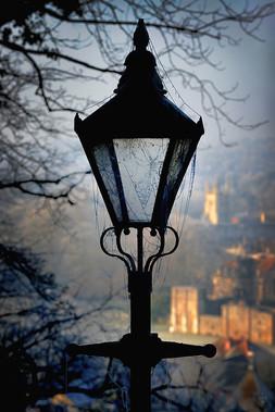 Lamp and Cobwebs