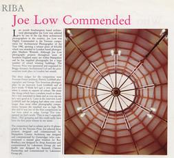 Article in RIBA Magazine 1990