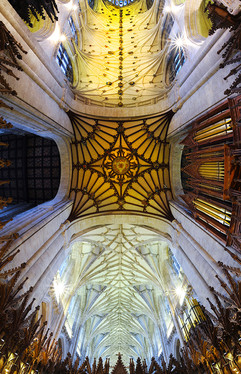 Winchester Cathedral Nave & Choir Ceiling