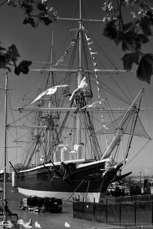 HMS Warrior & Seagulls