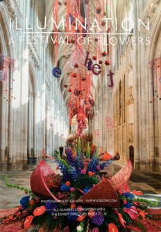 Illumination Festival of Flowers, Winchester Cathedral 2018, (whole page - brochure)