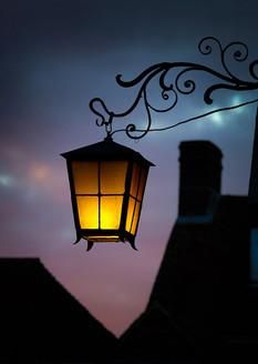 Porch Lamp, St Bartholomews Church, Hyde, Winchester