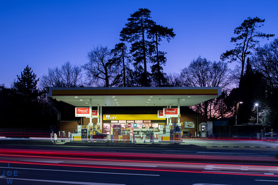 Chilworth Roundabout filling station, Southampton
