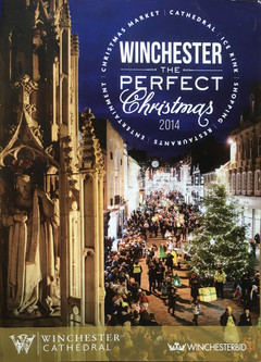 Cover - Winchester Christmas Brochure 2014