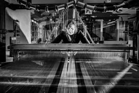 Whitchurch Silk Mill - weaving