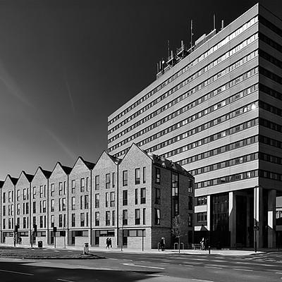 GP Masonry - Capital House Student Accomodation, Southampton