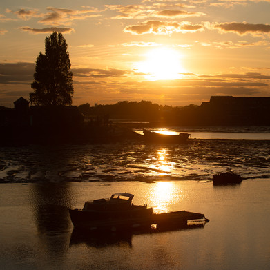Haslar Lake Sunset
