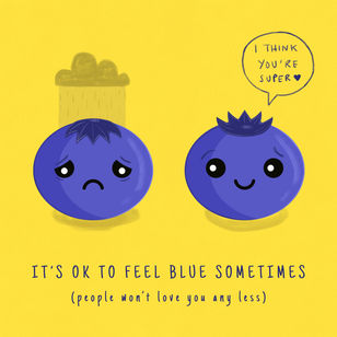 Ok to Feel Blue