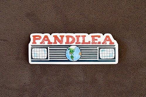 1x Pandilea Logo-Sticker