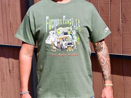 Pandilea-Shirt (Olive)