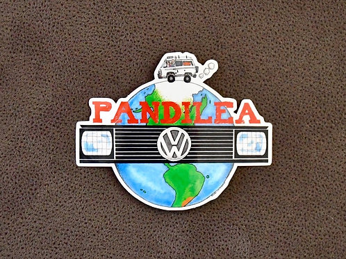 1x Pandilea World-Sticker