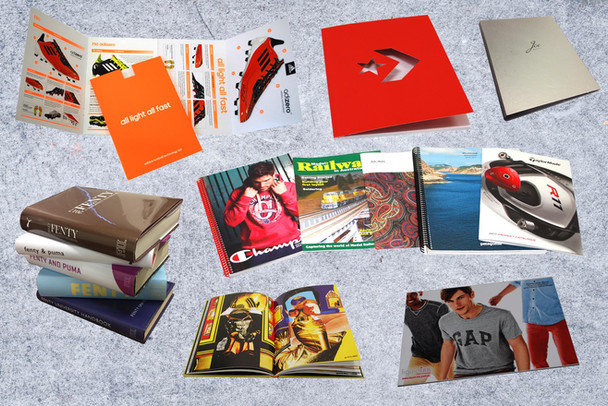 Brochures and Magazines