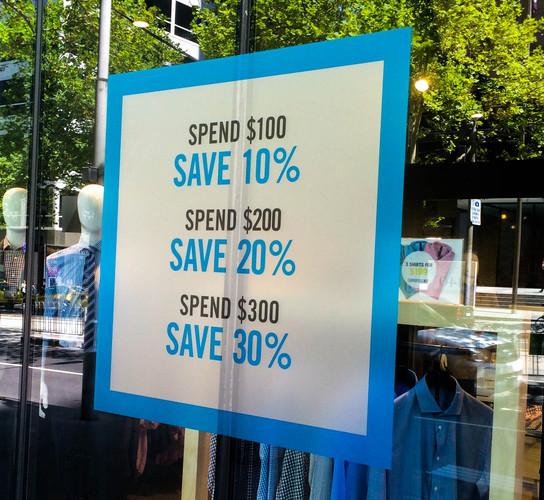 Storefront Signage