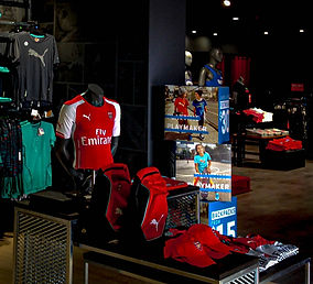 point of sale inside store merchandise