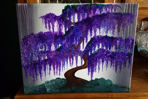 Purple Bonsai Wisteria