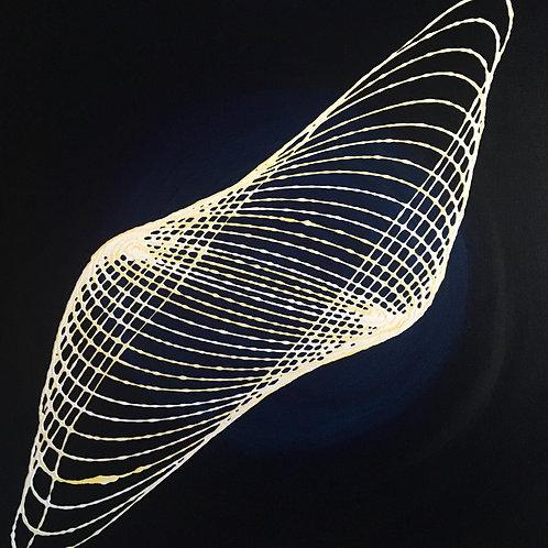 String Nebula Gravity Art