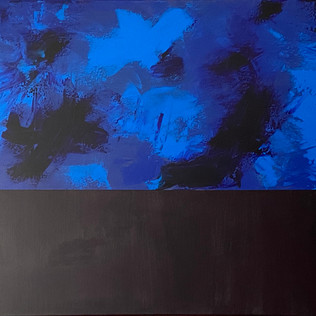 Blue & Black Abstract (1 of 2)