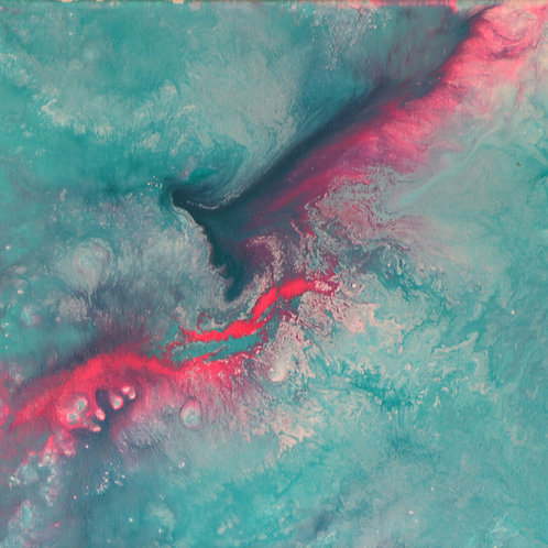 Pink Current in the Ocean