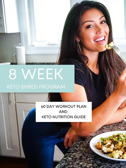 DIY 8 Week Keto Nutrition & Training Plan