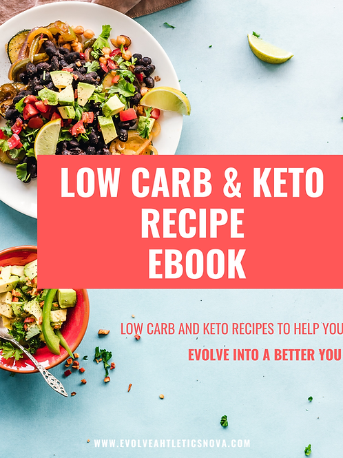 Low Carb & Keto Recipe Ebook
