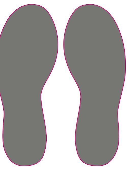 Traces de pas - Prix HT