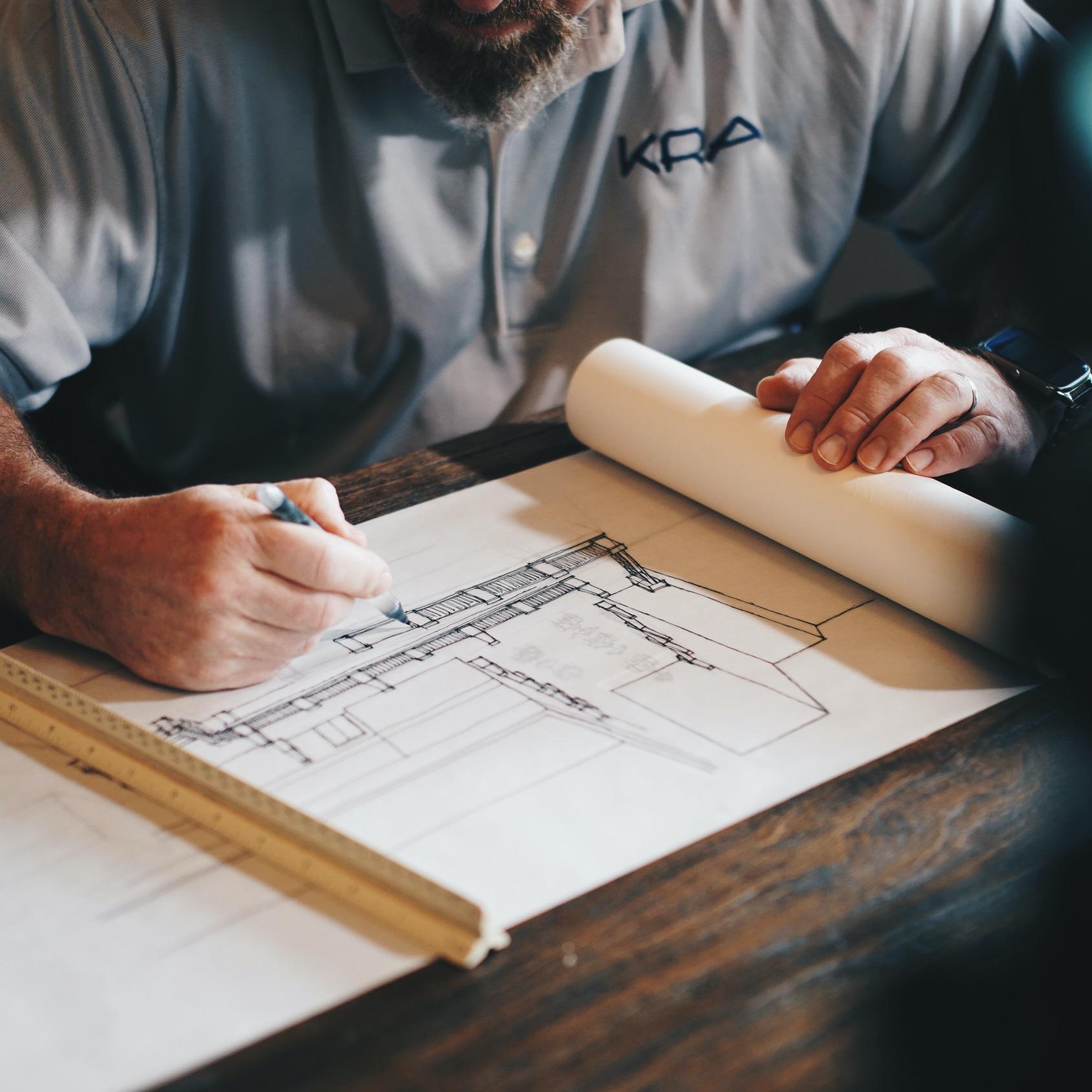 Impression plans d'architecte