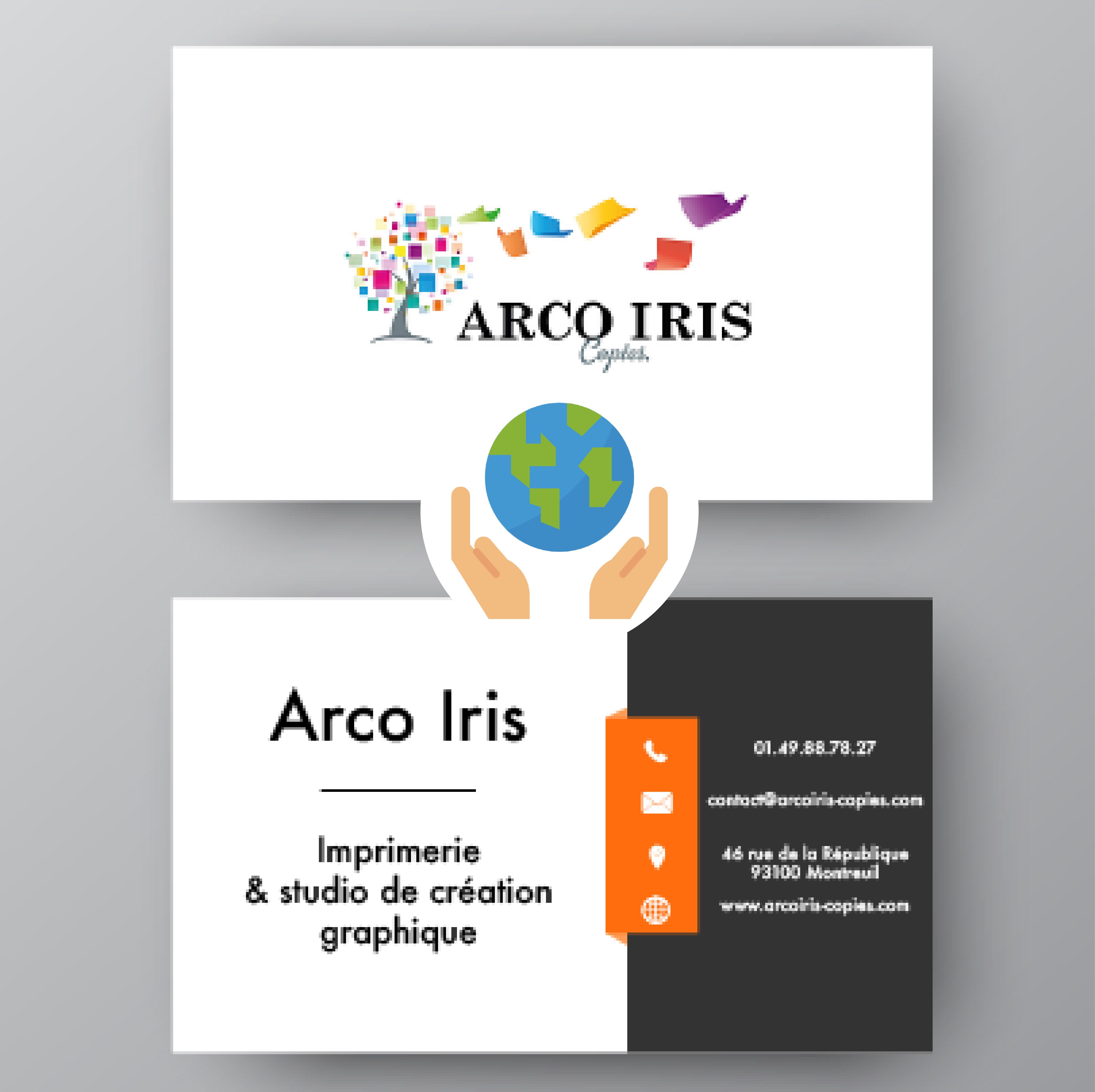 Cartes de visite - papier 100% recyclé