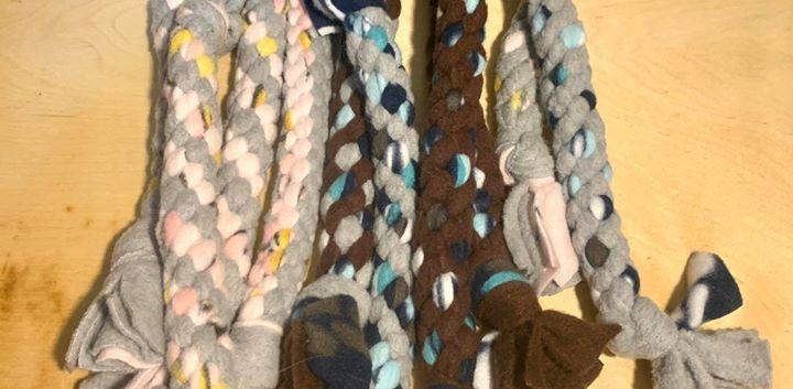 Dog Fleece Toys