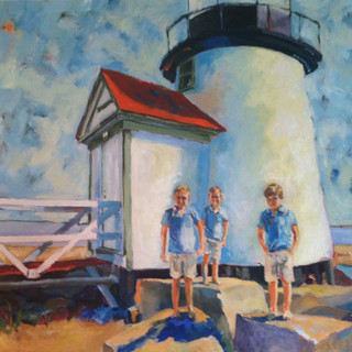 brothers at the lighthouse
