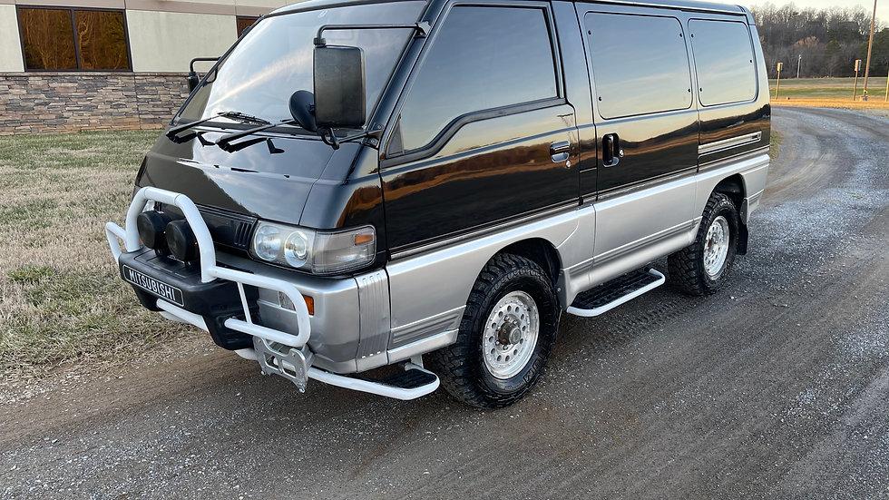 1993 MITSUBISHI DELICA P25W STARWAGON EXCEED WINTER EDITION 4X4