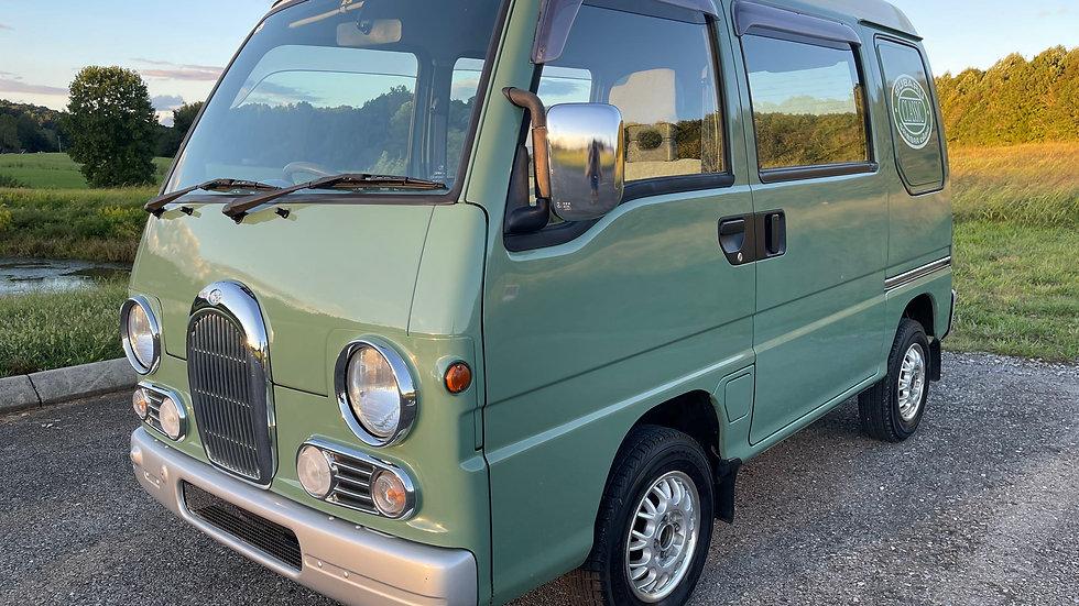 1994 CLASSIC EUROPEAN MICRO BUS/VAN SUBARU DIAS SAMBAR 4x4,