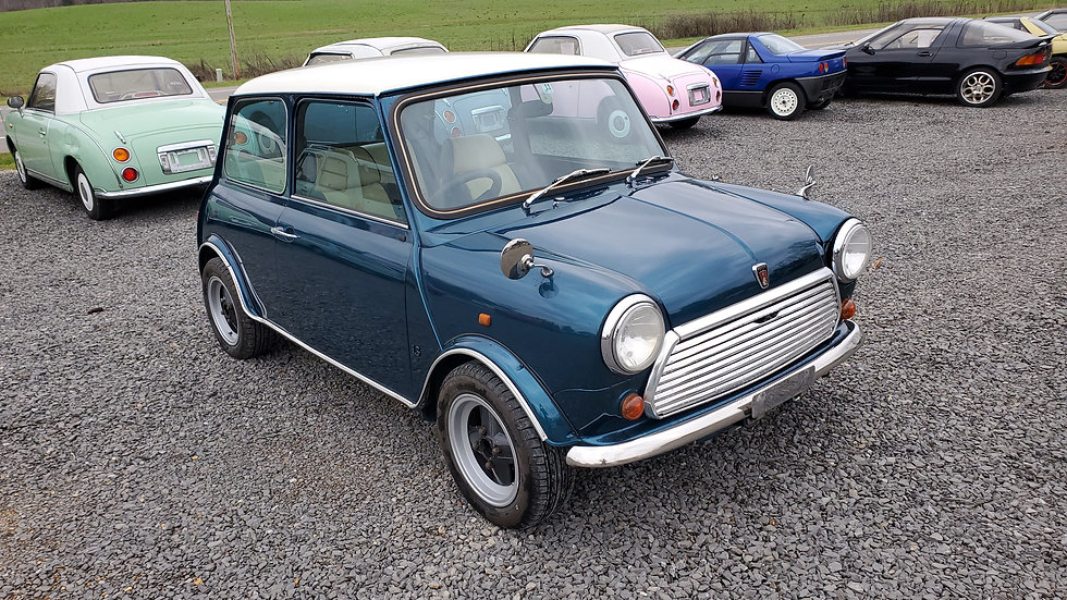 1992 MINI COOPER MAYFAIR EDITION  1.3LITER 4CYLINDER 29,933 MILES