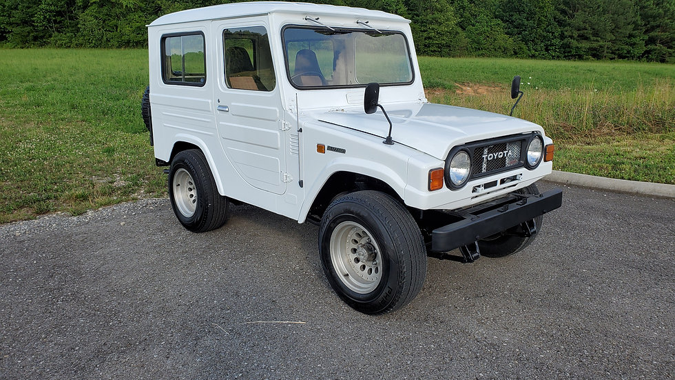 1981 Toyota blizzard DELUXE LD10 2.2L 4 cylinder diesel 4-speed manual 34,744Mi