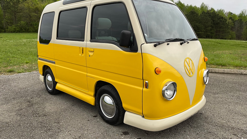 1991 VW- EUROPEAN MICROBUS/VAN SUBARU