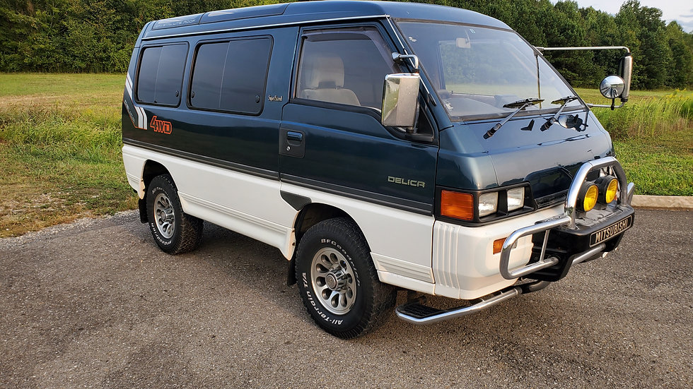 1990 MITSUBISHI DELICA SUPER EXCEED 4X4 TURBO DIESEL 86K MILES