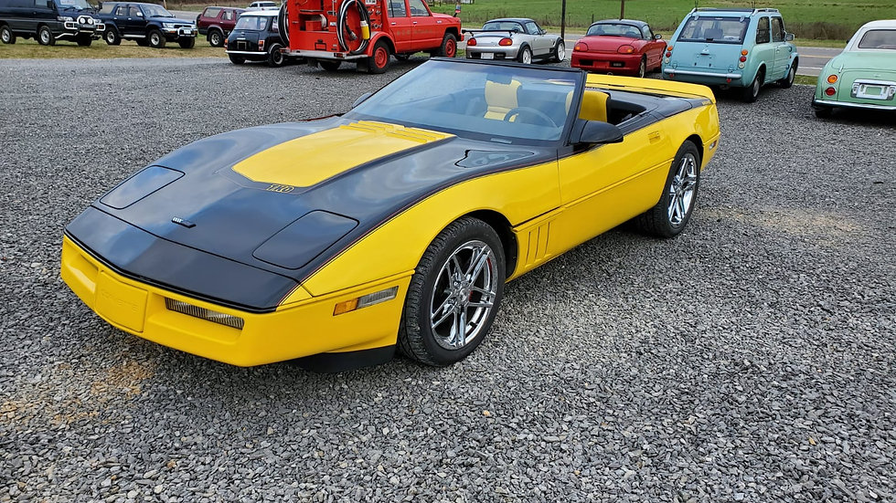 sold-PRO-CHARGED-1989 Chevrolet Corvette Convertible 2,500MILES