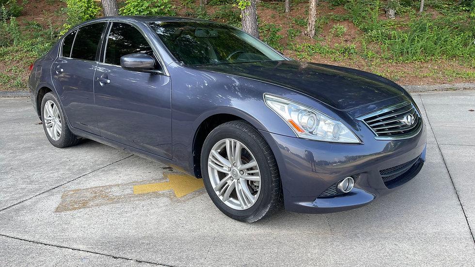 2011 INFINITI G37-x-MODEL AWD 4X4 78,686 ORIGINAL MILES