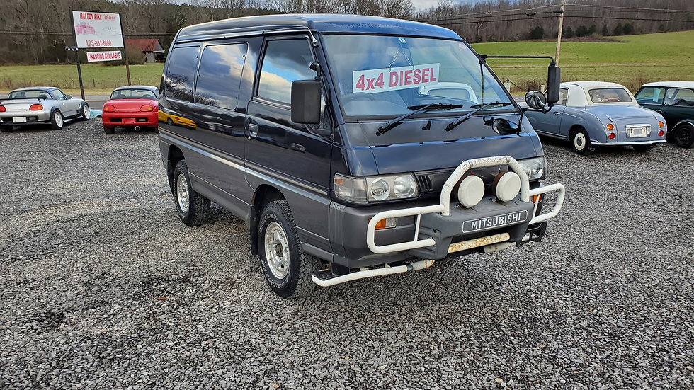 sold- 1994 Mitsubishi delica 4x4 turbo DIESEL 93k miles