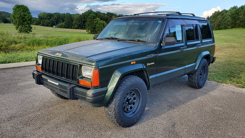 1996 JEEP CHEROKEE LIMITED 4.0 HIGH OUTPUT- 61KMILES