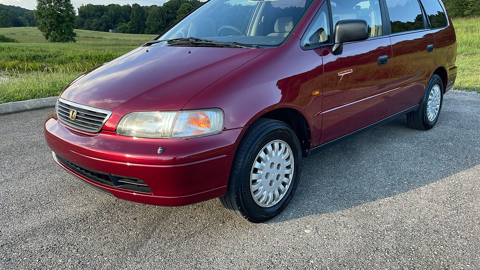 1996 HONDA ODYSSEY-FACTORY RIGHT HAND DRIVE, USA 69,420 MILES