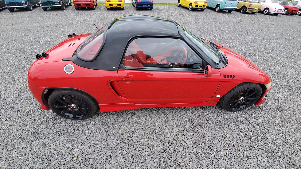 1991 HONDA BEAT HARD TOP CONVERTIBLE MID ENGINE, IT HAS A MID ENGINE, 5 SPEED MA