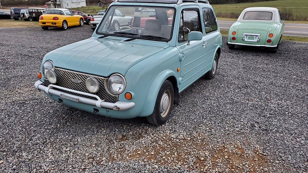 1990 NISSAN PAO CONVERTIBLE  46,252MILES