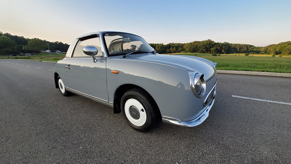 1991 NISSAN FIGARO TURBO CONVERTIBLE- FLAWLESS PAINT