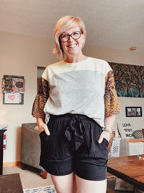 Carli Paperbag Shorts