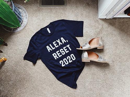 Alexa, Reset 2020 Tee