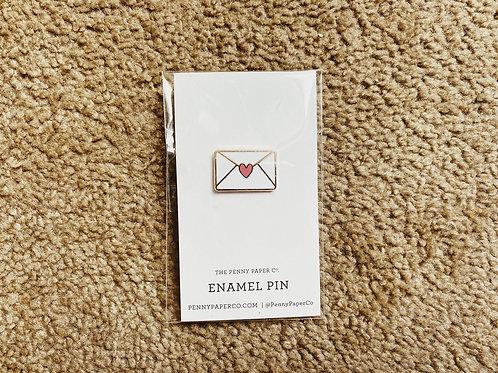 Enamel Pin - Love Letter